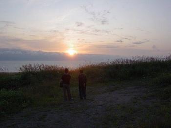 厚田から夕日.jpg